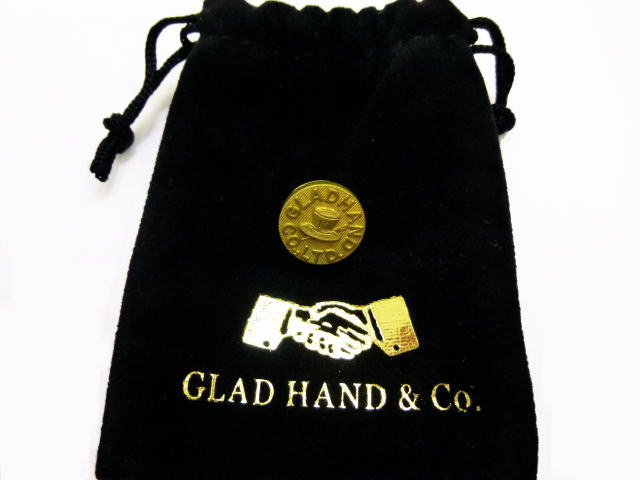 GLAD HANDGH LOGO-PINS HAT