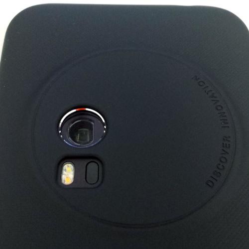ゼンフォンズームケース装着したカメラ部分