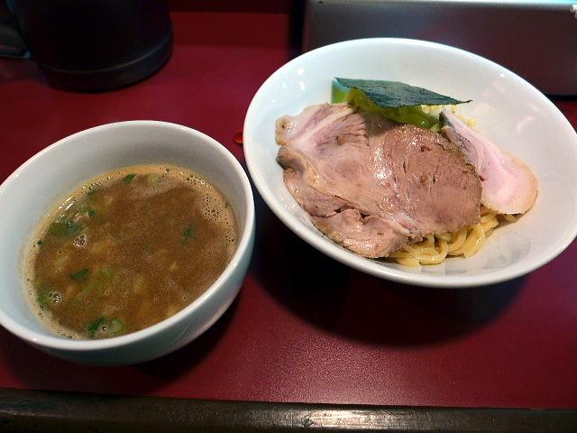 麺一盃@04「限定なう」豚骨魚介つけ麺 1