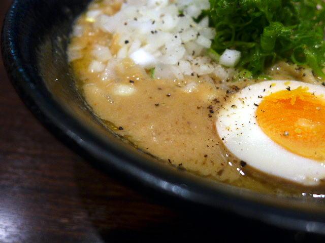大杉製麺 本町店@01鶏×鶏×鶏超濃厚ラーメン 2