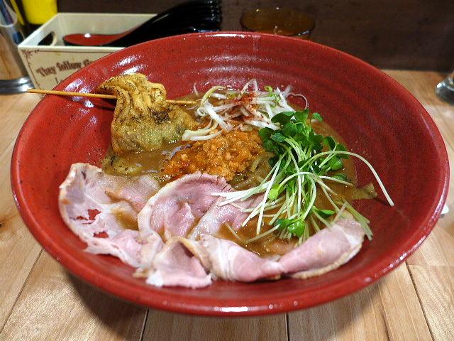 創作らーめん 麺style林@01北海道風味噌らーめん+レアチャーシュー合計3枚 1