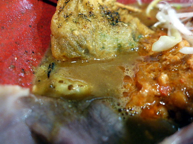 創作らーめん 麺style林@01北海道風味噌らーめん+レアチャーシュー合計3枚 2