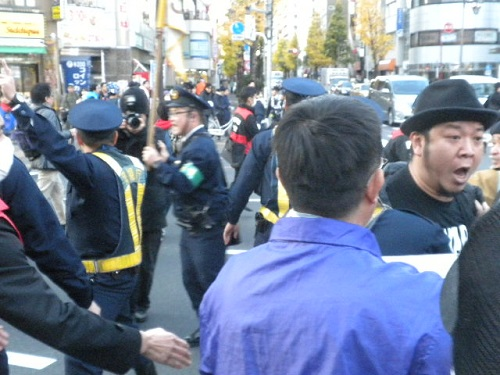 20151220超大嫌韓デモ in 新宿