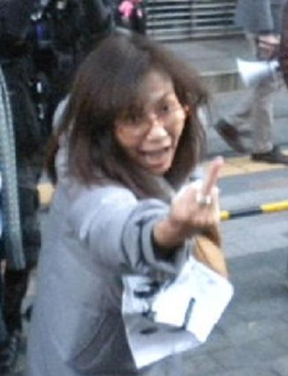 ▼20160110慰安婦問題での日韓合意を糾弾する国民大行進