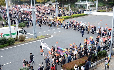 反ヘイト東京大行進(2015年11月)