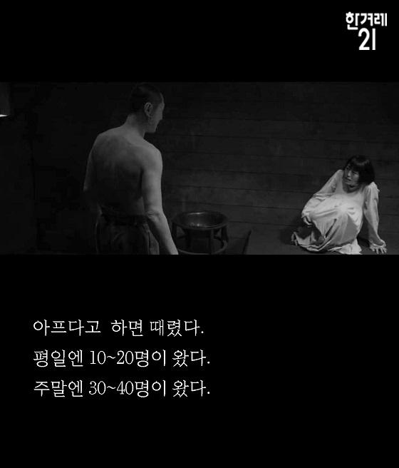 韓国のハンギョレ新聞系の雑誌の慰安婦記事 (朝鮮語)「私の前で日本軍はジッパーを下すだけだった」