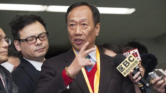 シャープ、台湾・鴻海(ホンハイ)精密工業の郭台銘会長(65)が直接交渉