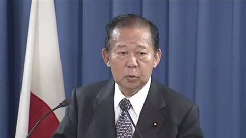 自民・二階総務会長「韓国は良識ある判断。日本も相応の対応を」