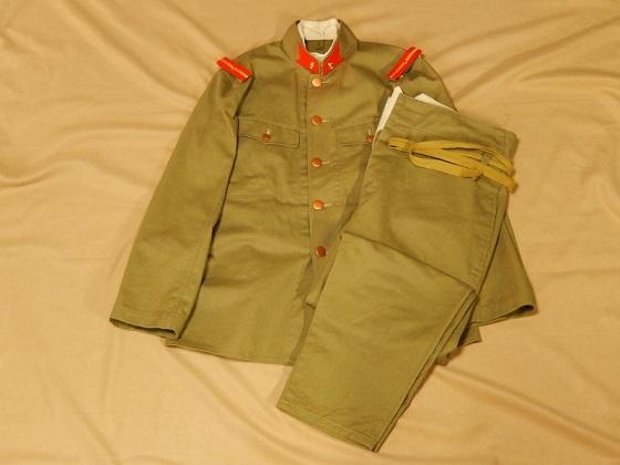 昭五式夏衣上下の複製