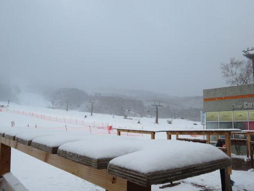 ふんわり   積雪
