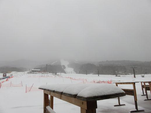 3月9日積雪量は
