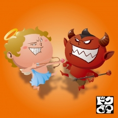 天使vs悪魔