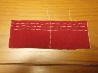 縫い代の線