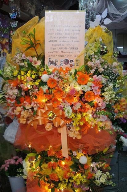 ドンワン日本ペンミお花サポート