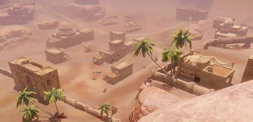 やはり砂漠地帯