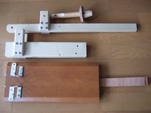 木製プレス機パーツ20151229