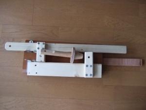 木製プレス機収納20151229