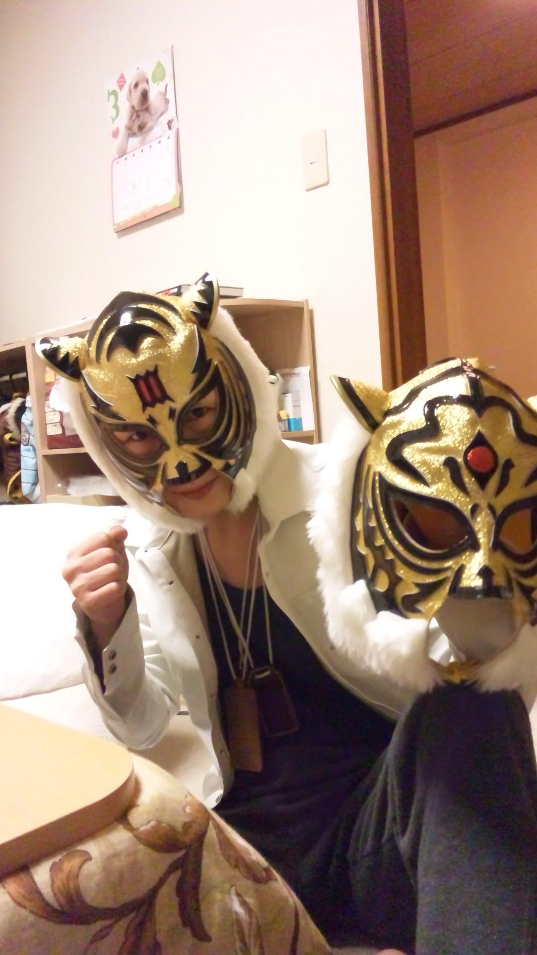 タイガーマスクのマスク