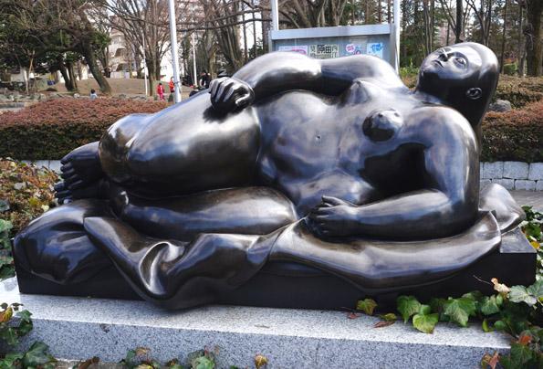20160221 埼玉県立近代美術館 ボテロ 21㎝ DSC03937