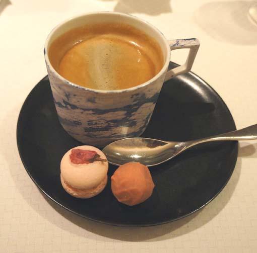 20160304 ラールエラマニュエール 9 コーヒー 小菓子 18cm DSC04413
