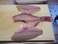 鯛のさばき方と刺身36