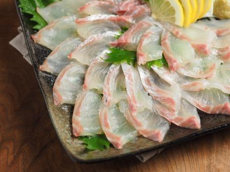 鯛のさばき方と刺身18