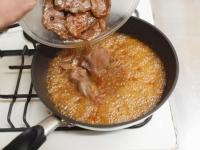 鹿肉生姜焼き61
