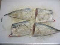 鯖のガーリックソテー17