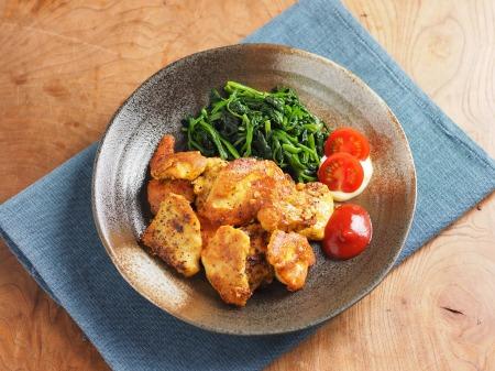 鶏むね肉のカレーピカタ07