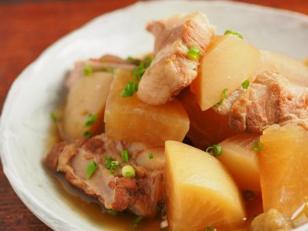 豚肉と大根の柔らか煮10