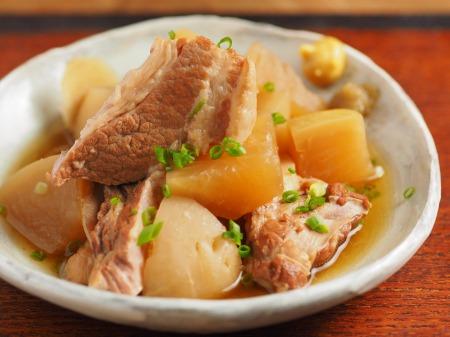 豚肉と大根の柔らか煮16