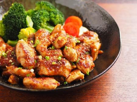 鶏むね肉の生姜焼き19