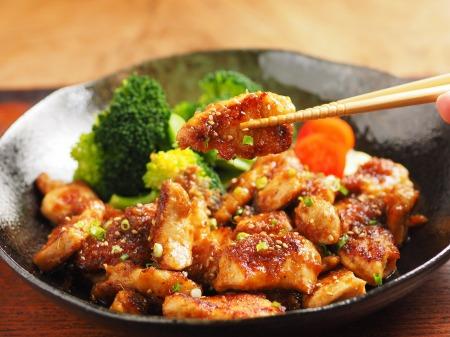 鶏むね肉の生姜焼き30
