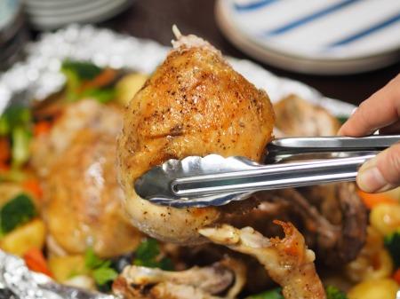 鶏むね肉の生姜焼き33