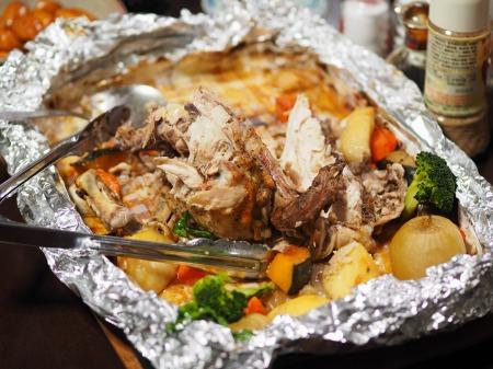 鶏むね肉の生姜焼き38