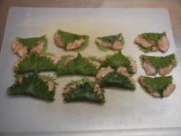 鶏むね肉の梅肉大葉包み揚t39