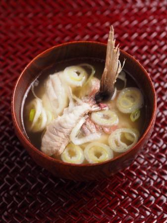 鯛の味噌汁13