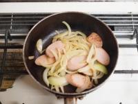 魚肉ソーセージのしょうが焼きt27