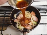 魚肉ソーセージのしょうが焼きt28