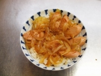 魚肉ソーセージのしょうが焼きt33
