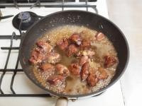 鶏レバーと長芋の鍋照り焼きt54