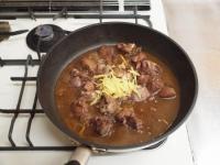 鶏レバーと長芋の鍋照り焼きt56