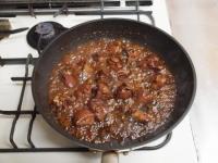 鶏レバーと長芋の鍋照り焼きt58