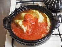 鶏むね肉とキャベツのトマト鍋t30