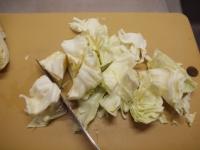 鶏むね肉とキャベツの温サラダt24