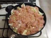 鶏むね肉とキャベツの温サラダt32