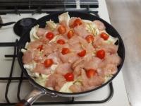 鶏むね肉とキャベツの温サラダt33