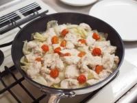 鶏むね肉とキャベツの温サラダt36