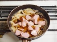 魚肉ソーセージ親子丼t39