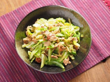 キャベツの生姜味噌炒めt07